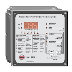 power factor control relays