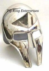 Medieval Nickel Helmet