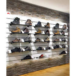 Slat Wall Panel For Shoes