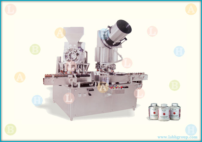 Automatic Dry Syrup Mono Block Filling Sealing Equipment