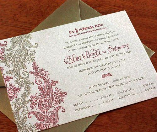 Hindu wedding invitation cards indian wedding card service hindu wedding invitation cards stopboris Images