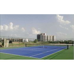 Synthetic Lawn Tennis Court Construction Service