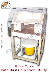 Dust Collector For Jewelry Machine Filing Bench