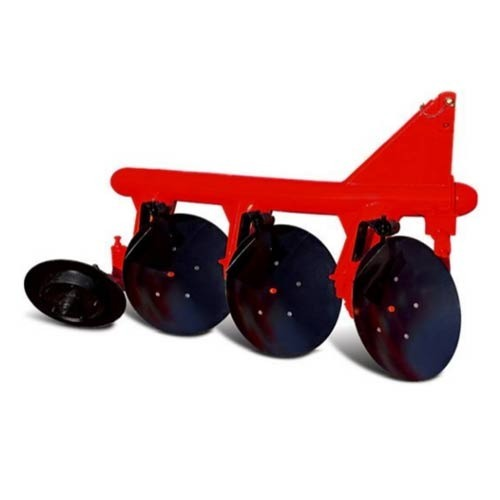 Disc Plough Drawing Reversible Plough