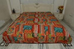 New Cotton Kantha Bed Cover