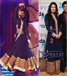 Bollywood Navy Blue Designer Suit