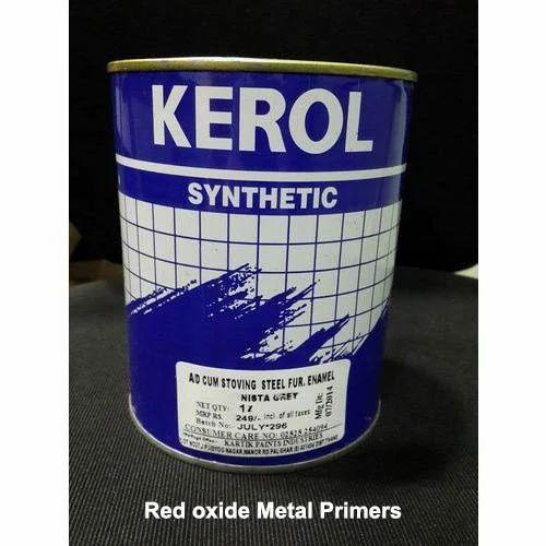 Aluminum Oxide Primer Red And Red Oxide Metal Primer
