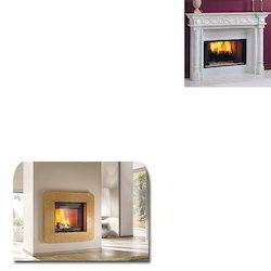 Marble Fireplace for Commercial Use