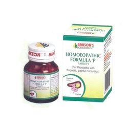 Homeopathic Formula 'P' Tablets
