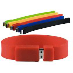 Silicon Wristband Flash Drive