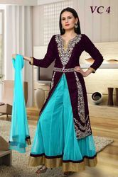 Designer Suits for Ladies - Kalidar Embroidered Suits Exporter ...