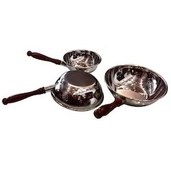 SS Hammered Wok Style Portion Dishes