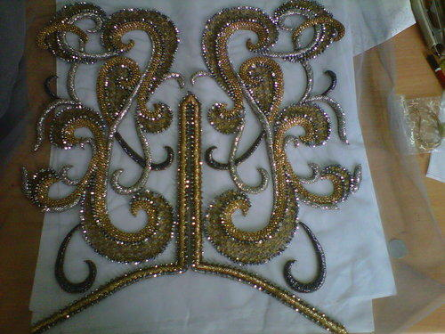 Crystal Embroidery Work