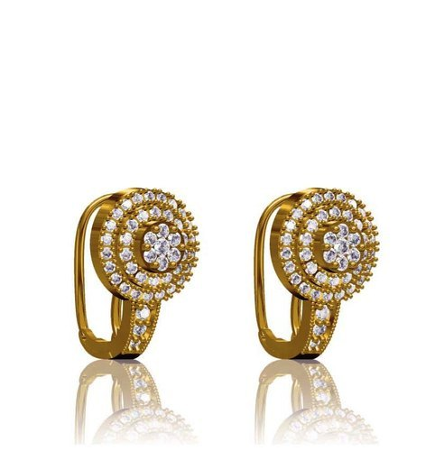 EARINGS Designer Diamond Bali Wholesale Trader from Surat