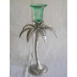 Palm Tree Shaped Candle Stand