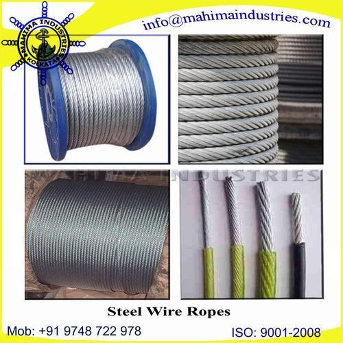 Steel Wire Ropes - Manufacturer from Kolkata