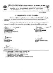 Shri Aurobindo Krishi Viyag Kendra ICAR