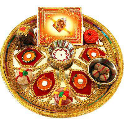Decorative pooja thali wedding decorative accessories for Aarti thali decoration with clay
