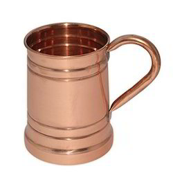 Solid copper Moscow Mule Copper Mug 18 Oz