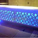 Solid Surface Backlit Countertops