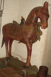Wooden Hand Painted Horse