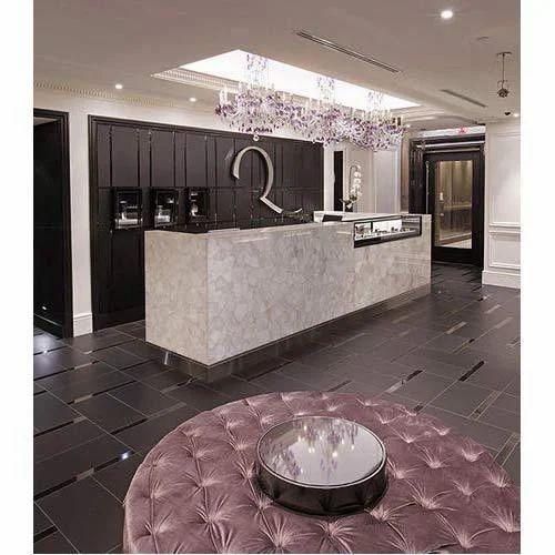 Delicieux Quartz Crystal Stone Furniture