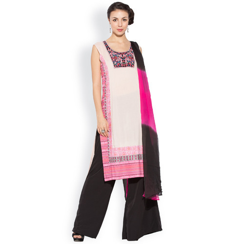 Western Designer Long Printed Party Wear Kurtas Dress