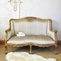 French living room sofa