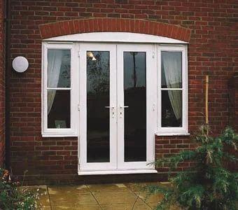 Wooden Windows Door Cum Window Frame Manufacturer From