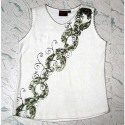 Printed Sleeveless Tops