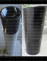 Black Granite Pedestal Wash Basin