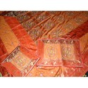Indian Silk Bed Cover