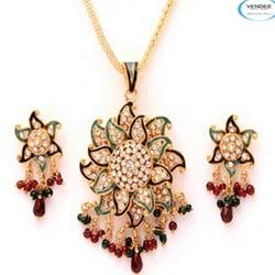 Traditional Fashion Designer Brass Pendant Sets
