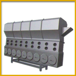 Double Screw Extruder for Bread Crumb Production