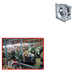 Plug Centrifugal Fans for Textile Industry