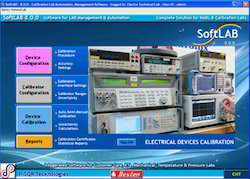 Electro Technical Calibration Management Software Service