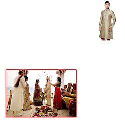 Poly Silk Kurta for Wedding