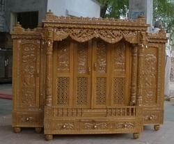 Sag Wood Shrinathji/ Haveli Mandiir