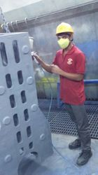 Industrial Machine Painting Services