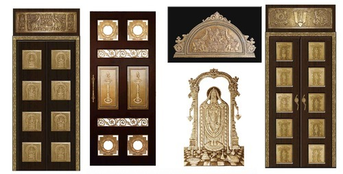 Pooja Metal Accessories Door Handles Exporter from Chennai