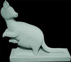 Marble Kangaroo Statue