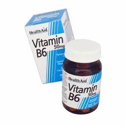 Vitamin B6 50mg 100Tablets