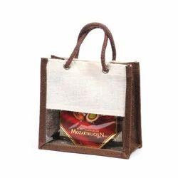 Large Size Design Jute Wine Bags