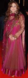 Bollywood Pink Suit Designed