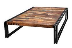 Industrial Iron Coffeetable