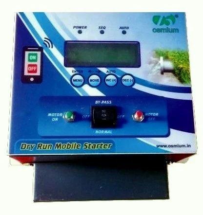 3 Phase GSM Button Starter