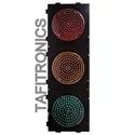 Combination of Red Amber and Green Traffic Signal