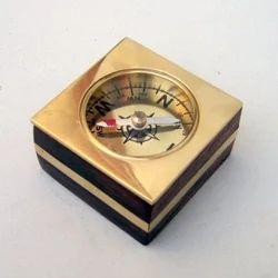 Nautical Wooden Compass