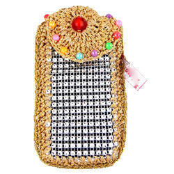 Embroidered Mobile Cover