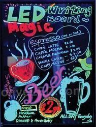 LED Floarscent Marker Writing Board